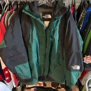 The North Face Gore Tex Green Size Medium Vintage